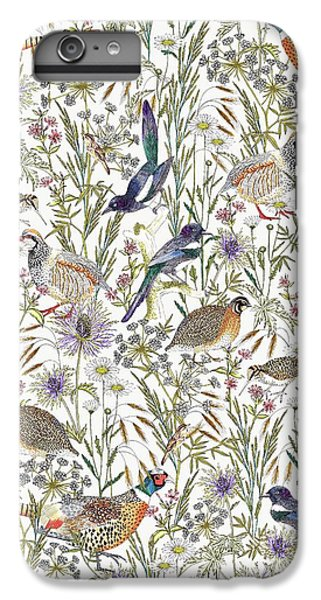 Woodland Edge Birds IPhone 6 Plus Case