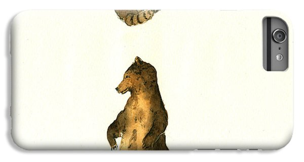 Woodland Letter I IPhone 6 Plus Case by Juan  Bosco