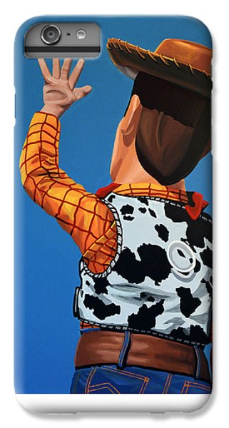 Aliens iPhone 6 Plus Case - Woody Of Toy Story by Paul Meijering