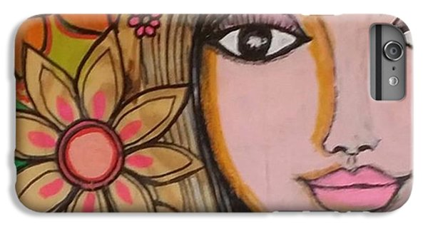 Beautiful iPhone 6 Plus Case - Working On A New #girliegirl On by Robin Mead