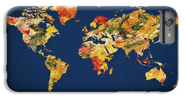 Iphone 6 World Map Case.World Map Iphone 6 Plus Cases Fine Art America