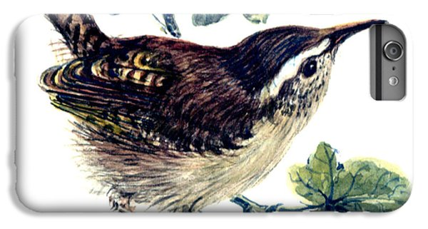 Wren In The Ivy IPhone 6 Plus Case by Nell Hill