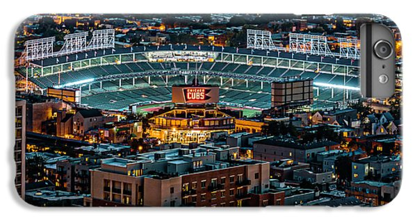 Wrigley Field From Park Place Towers Dsc4678 IPhone 6 Plus Case by Raymond Kunst