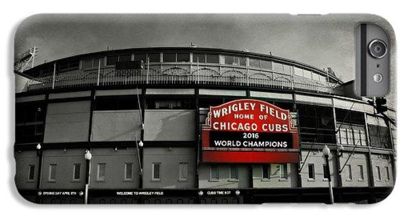 Wrigley Field IPhone 6 Plus Case by Stephen Stookey