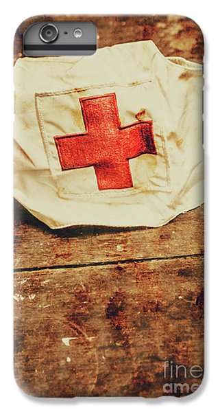 Ww2 Nurse Hat. Army Medical Corps IPhone 6 Plus Case