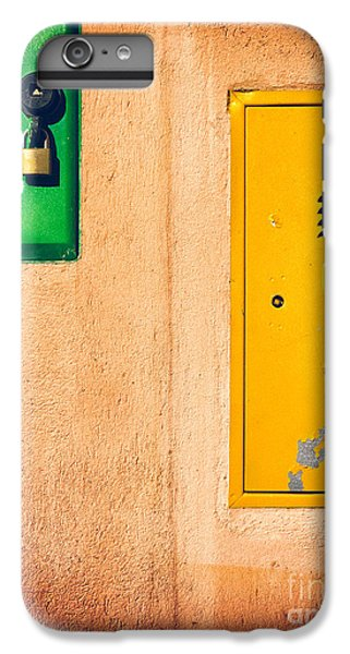 Yellow And Green IPhone 6 Plus Case by Silvia Ganora