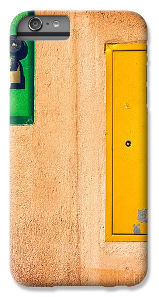 IPhone 6 Plus Case featuring the photograph Yellow And Green by Silvia Ganora