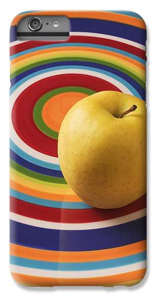 Yellow Apple  IPhone 6 Plus Case