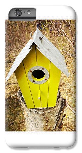 House iPhone 6 Plus Case - Yellow Bird House by Matthias Hauser