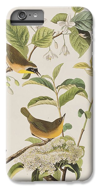Yellow-breasted Warbler IPhone 6 Plus Case by John James Audubon
