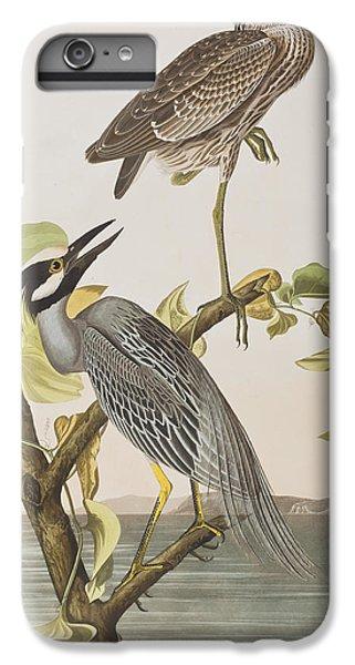 Yellow Crowned Heron IPhone 6 Plus Case by John James Audubon