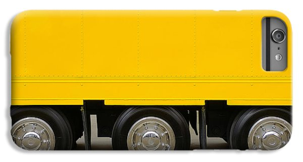 Yellow Truck IPhone 6 Plus Case by Carlos Caetano