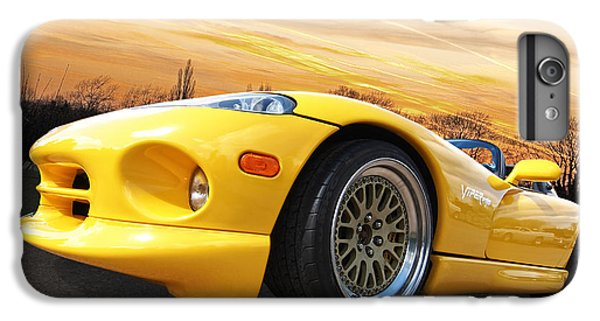 Yellow Viper Rt10 IPhone 6 Plus Case by Gill Billington