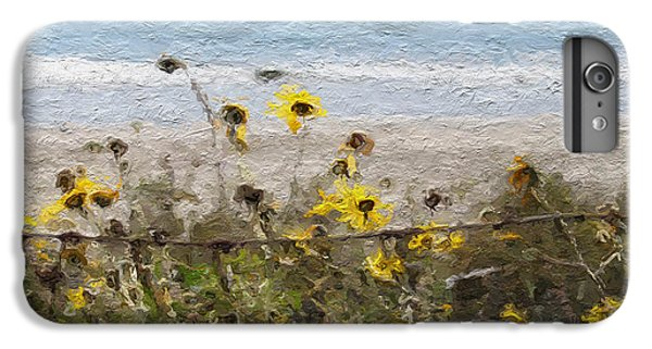Daisy iPhone 6 Plus Case - Yellow Wildflowers- Art By Linda Woods by Linda Woods