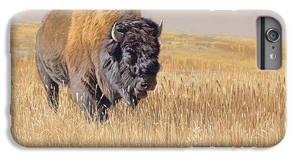 Mammals iPhone 6 Plus Case - Yellowstone King by Aaron Blaise