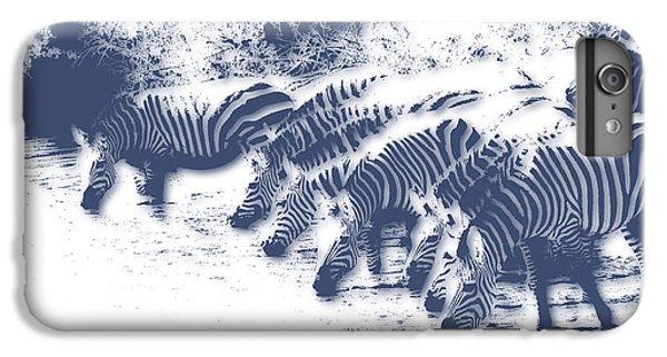 Zebra 3 IPhone 6 Plus Case