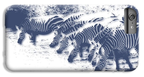 Zebra 3 IPhone 6 Plus Case by Joe Hamilton