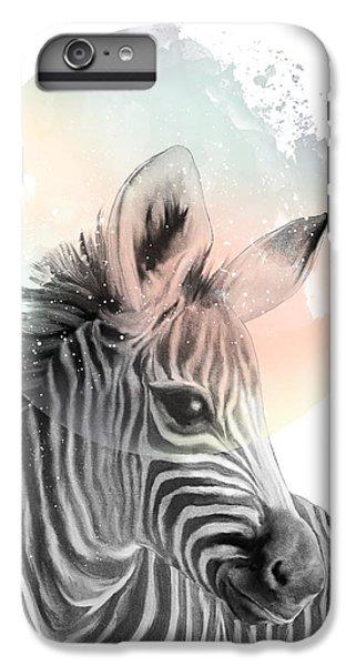 Zebra // Dreaming IPhone 6 Plus Case by Amy Hamilton