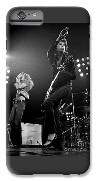 Rock Music Jimmy Page iPhone 6 Plus Case - Zeppelin Rocks by Pd