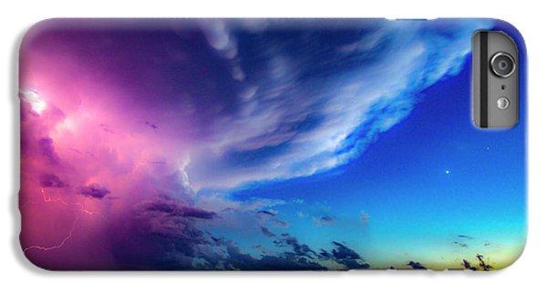 Nebraskasc iPhone 6 Plus Case - Epic Nebraska Lightning 007 by NebraskaSC