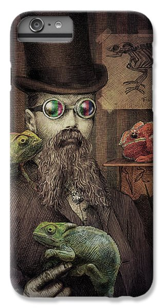 Nature iPhone 6 Plus Case - The Chameleon Collector by Eric Fan