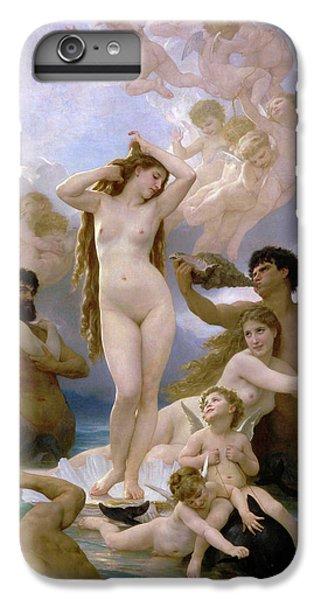 Venus Williams iPhone 6 Plus Case - The Birth Of Venus by William-Adolphe Bouguereau