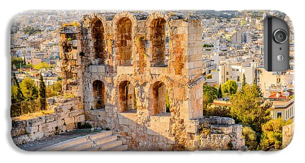 Building iPhone 6 Plus Case - Amphitheater Of The Acropolis Of by Anton ivanov