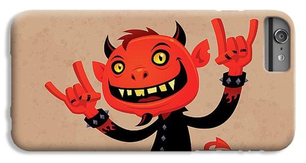 Music iPhone 6 Plus Case - Heavy Metal Devil by John Schwegel