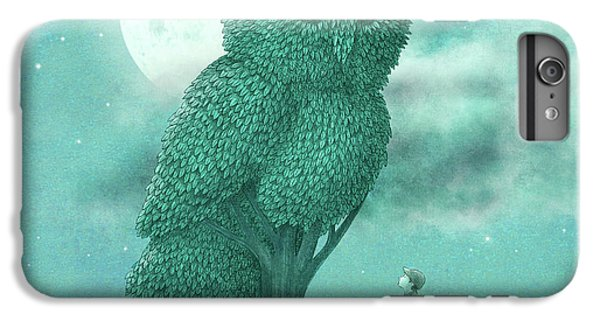 Nature iPhone 6 Plus Case - The Night Gardener by Eric Fan