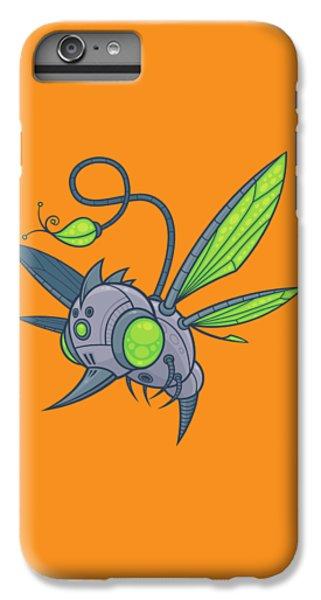 Honeybee iPhone 6 Plus Case - Humm-buzz by John Schwegel