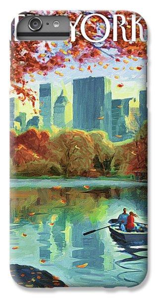 Nature iPhone 6 Plus Case - Autumn Central Park by Eric Drooker
