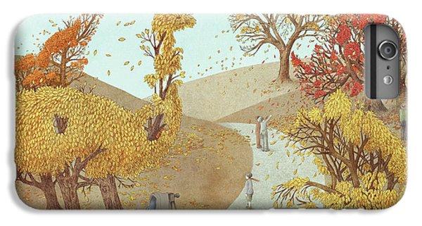 Nature iPhone 6 Plus Case - Autumn Park by Eric Fan