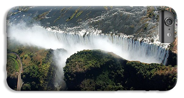 Africa iPhone 6 Plus Case - Birds Eye View Of The Victoria Falls by Wolfso