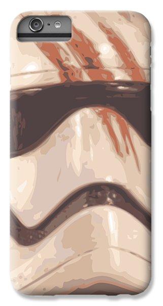 Han Solo iPhone 6 Plus Case - Bloody Helmet by Filip Hellman