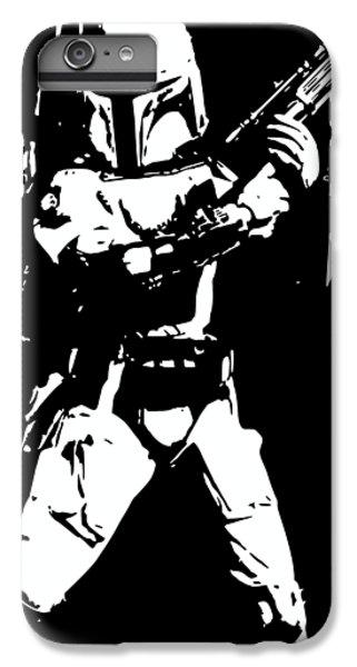 Han Solo iPhone 6 Plus Case - Boba Fett Minimalistic Pop Art by Filip Hellman