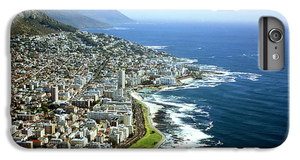 Africa iPhone 6 Plus Case - Cape Town - South Africa - Aerial View by Mark Van Overmeire