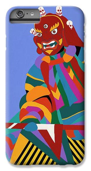 iPhone 6 Plus Case - Cham Dancer Wrathful Deity by Synthia SAINT JAMES