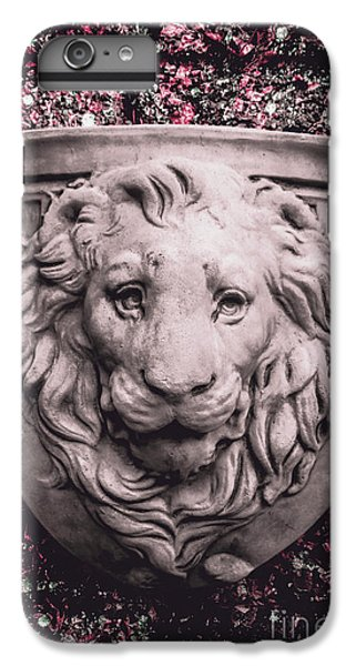 Lion Head iPhone 6 Plus Case - Courage Crest by Jorgo Photography - Wall Art Gallery