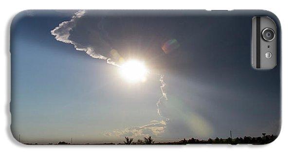Nebraskasc iPhone 6 Plus Case - Dying Nebraska Thunderstorms At Sunset 002 by NebraskaSC