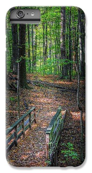Nature Trail iPhone 6 Plus Case - Forest Footbridge by Tom Mc Nemar