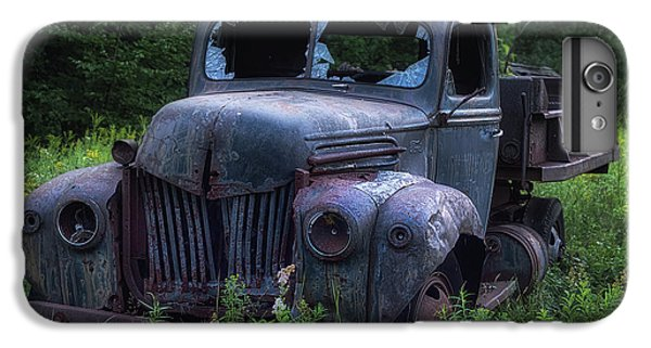 Truck iPhone 6 Plus Case - Green Mattress by Jerry LoFaro