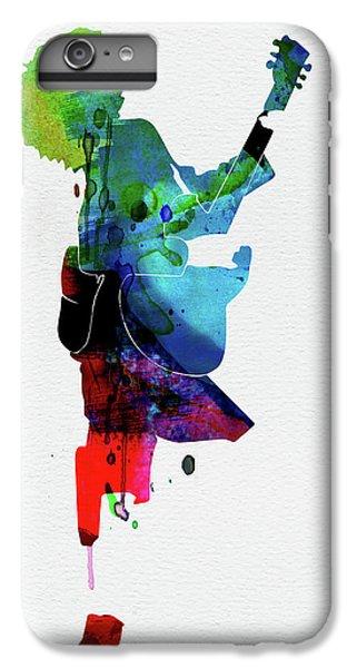 Floral iPhone 6 Plus Case - Guns Watercolor by Naxart Studio