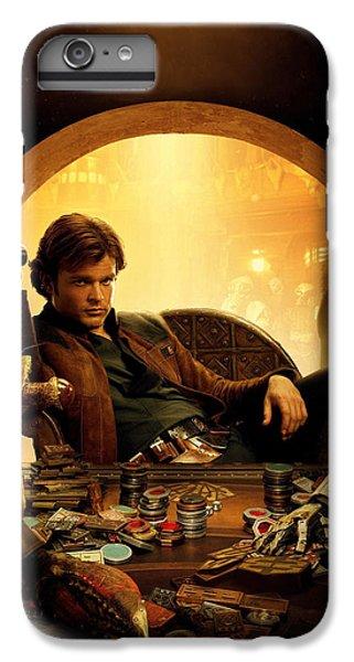 Han Solo iPhone 6 Plus Case - Han Solo A Star Wars Story by Geek N Rock