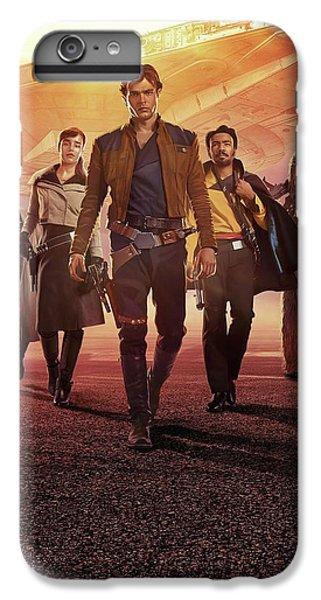Han Solo iPhone 6 Plus Case - Han Solo Uma Historia Star Wars by Geek N Rock