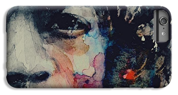 Rock Legend iPhone 6 Plus Case - Jimi Hendrix - Somewhere A Queen Is Weeping Somewhere A King Has No Wife  by Paul Lovering