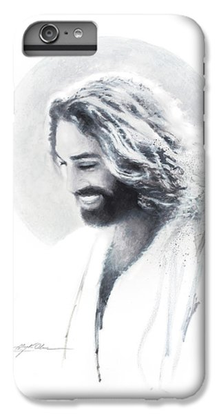 Christ iPhone 6 Plus Case - Joy Of The Lord Vignette by Greg Olsen