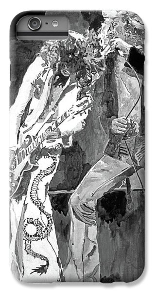 Rock Music Jimmy Page iPhone 6 Plus Case - Led Zep The Gods Of Rock by David Lloyd Glover