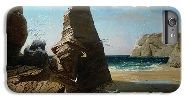 Barren iPhone 6 Plus Case - Les Petites Mouettes, Small Seagulls by Octave Penguilly L'Haridon