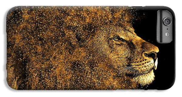 Lion Head iPhone 6 Plus Case - Lion King by ArtMarketJapan