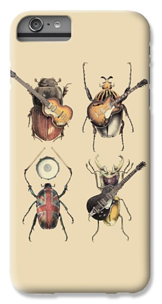 Music iPhone 6 Plus Case - Meet The Beetles by Eric Fan